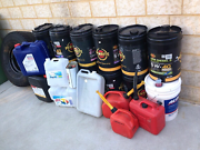 Lots of EMPTY OIL Containers Oil drums Kelmscott Armadale Area Preview