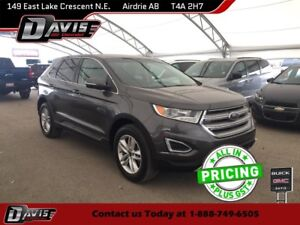 2017 Ford Edge SEL AWD, HEATED SEATS, CLOTH, LOW KM'S