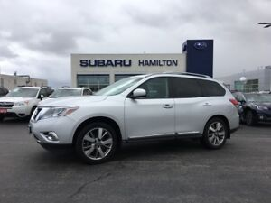 2014 Nissan Pathfinder Platinum NAVI | HEADREST TV SCREENS |...