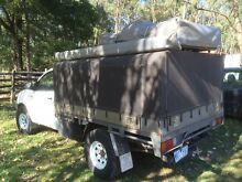 Hilux Lockable Canopy Rooftop Tent & Awning Avonsleigh Cardinia Area Preview
