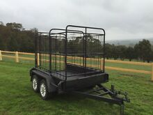 Tandem cattle trailer Lancefield Macedon Ranges Preview