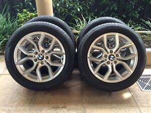"18"" GENUINE BMW X3-SERIES *SPORT* F25 WHEELS & 85% PIRELLI (2010- Kew Boroondara Area Preview"