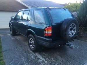 1999 Holden Frontera Sunbury Hume Area Preview