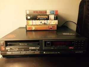 SONY BETAMAX player + beta tapes Christies Beach Morphett Vale Area Preview