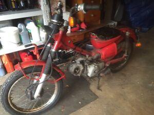 Wrecking honda Ct110 postie bike Sydney Ryde Ryde Area Preview