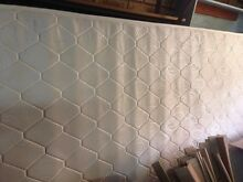 Brand new queen mattress and worn queen bed frame Safety Bay Rockingham Area Preview