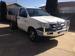 Toyota Hilux Workmate Cab Chassis 2009 Tray back single cab Ute Deniliquin Murray Area Preview