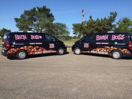 Bean Boss and Bean Boss Too Mobile Coffee Vans