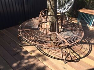 Tree Surround Garden Bench Murarrie Brisbane South East Preview