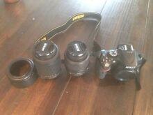 Nikon D5200. 18-55 & 55-200mm Lenses New Town Hobart City Preview