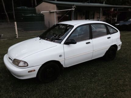 Cheap Ford festiva low kms with 8 months rego