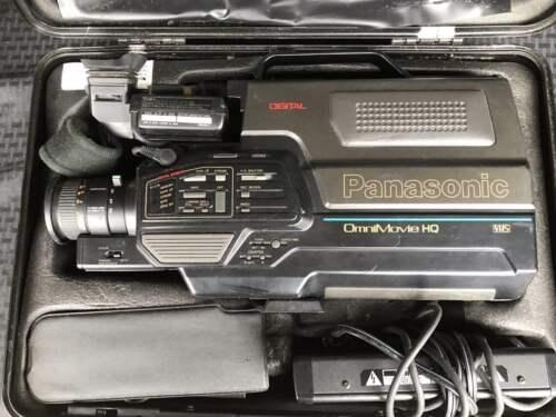 Vintage Panasonic PV-330D OmniMovie HQ VHS CamCorder Video Movie Camera NICE!