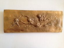 Wall Art / Plaque - Lady with Cherubs Summer Hill Ashfield Area Preview