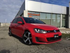 2016 Volkswagen Golf GTI 5-Door Autobahn w/ sunroof