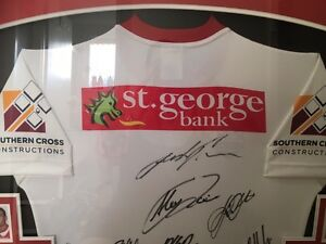 St George Illawarra signed jersey Surry Hills Inner Sydney Preview