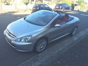Peugeot 307 top of the range convertible Leichhardt Leichhardt Area Preview