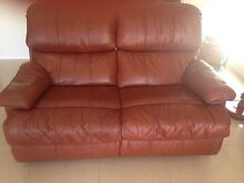 Moran leather recliners Henley Beach Charles Sturt Area Preview