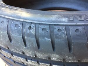 Near new continental sportcontact tyres Frenchs Forest Warringah Area Preview