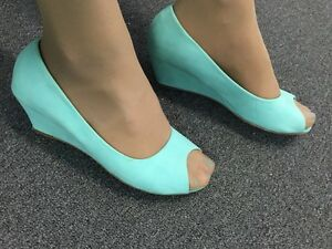 Rubi peep toe wedges size 41 (10) North Sydney North Sydney Area Preview