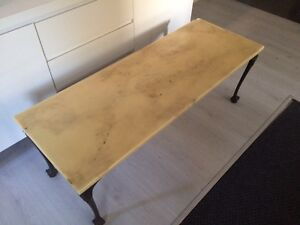 Old marble coffee table Wollstonecraft North Sydney Area Preview