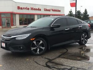 2016 Honda Civic Touring LEATHER, SUNROOF, HEATED SEATS