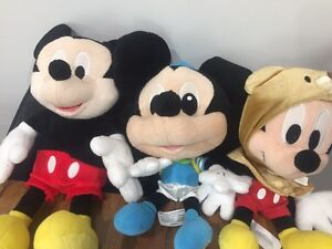Mickey Mouse Plush x 3 Noranda Bayswater Area Preview