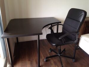 IKEA corner desk very new and chair. Regents Park Auburn Area Preview