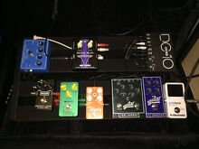 Pedaltrain 2 guitar pedalboard swap for junior Homebush Strathfield Area Preview
