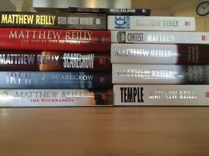 11 Matthew Reilly Books Rothwell Redcliffe Area Preview