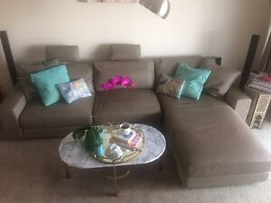 King Furniture Concerto Leather Sofa package New Farm Brisbane North East Preview