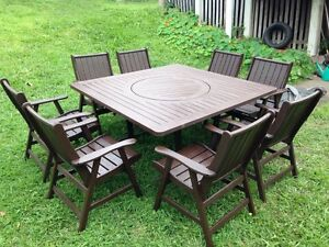 8 Seat Outdoor Dining Set (DELIVERY) Highgate Hill Brisbane South West Preview