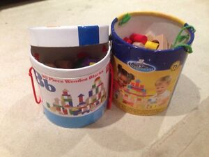 Toys - wooden building blocks Redcliffe Belmont Area Preview