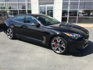 2018 Kia Stinger GT AWD. 365HP V6 Twin Turbo KIA Exec Demo