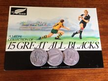 15 great New Zealand All Blacks coin set Rugby union Stafford Heights Brisbane North West Preview
