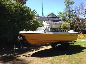 16 foot boat Pinjarra Murray Area Preview