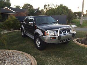2004 Nissan Navara ST-R 4x4, Turbo Diesel, Unregistered, Neat/Tidy Forrestdale Armadale Area Preview