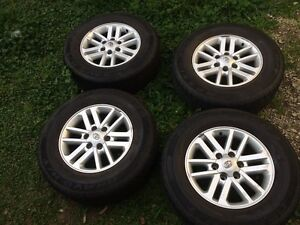Toyota hilux sr5 wheels and tyres Berala Auburn Area Preview