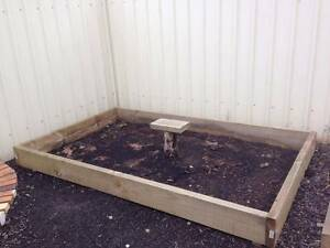 Raised Timber Garden Bed for urgent sale. Gilles Plains Port Adelaide Area Preview