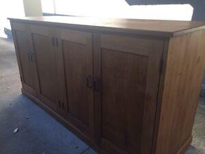 Wooden sideboard cupboard Marrickville Marrickville Area Preview