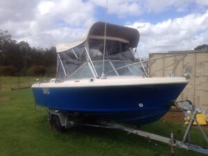 16 ft boat pride pacemaker Albany Albany Area Preview