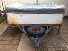 Camper trailer, canvas pop up type Athelstone Campbelltown Area Preview