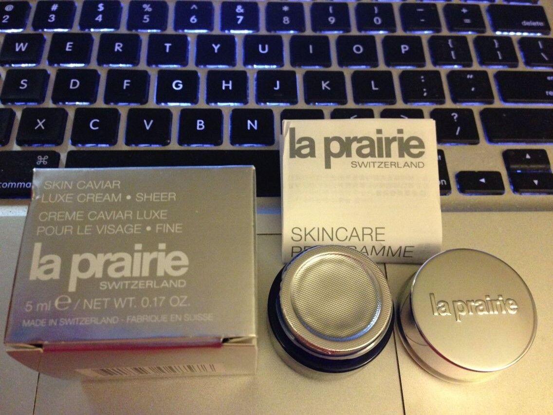La Prairie Skin Caviar Luxe Cream Sheer 5ml /.17oz Brand ...