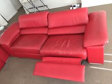 Recliner leather sofa Homebush West Strathfield Area Preview