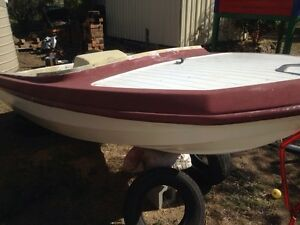 Fibreglass boat an outboard motors project Hendon Southern Downs Preview