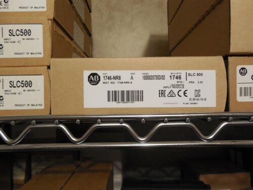 Allen Bradley 1746-NR8 A 3.00 SLC500 Input Module RTD Resistance Sealed 2017