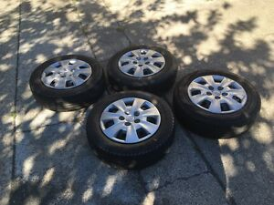 Hyundai I30 set of 4 with three regal tyre $200 Darra Brisbane South West Preview