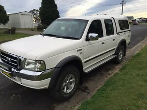 4x4 Dual cab ford courier 2005 XLT Tabulam Tenterfield Area Preview