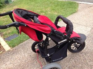 Mother's choice single red pram Carindale Brisbane South East Preview