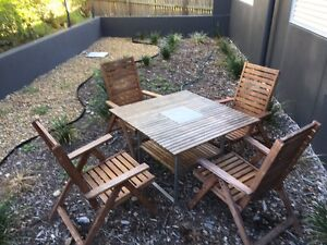 Outdoor furniture set - Acacia Wood Coorparoo Brisbane South East Preview