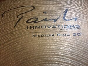 """Paiste 20"""" ride Innovations line Banyo Brisbane North East Preview"""